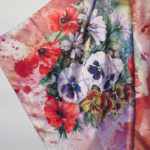 silk scarf azalea bellagio