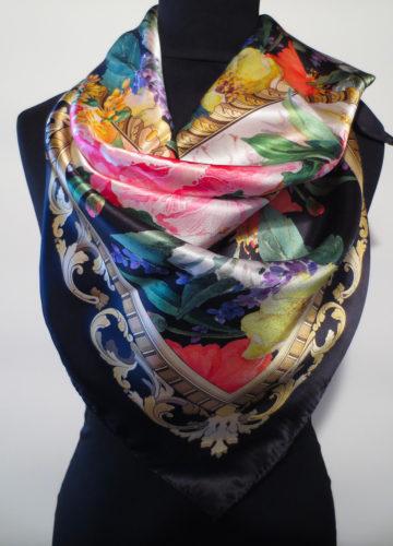 silk scarf azalea bellagio